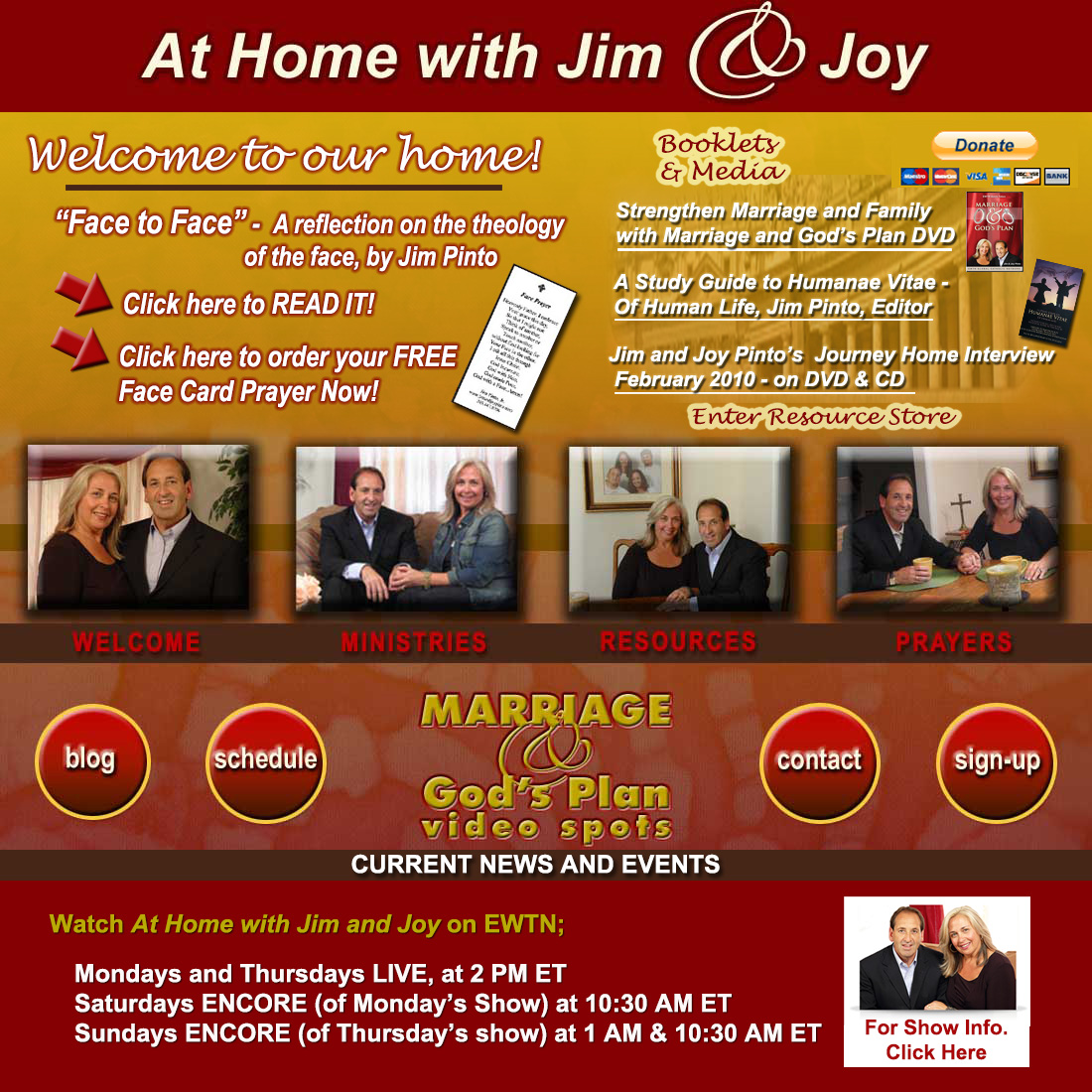 Jim and Joy Pinto's Home Page